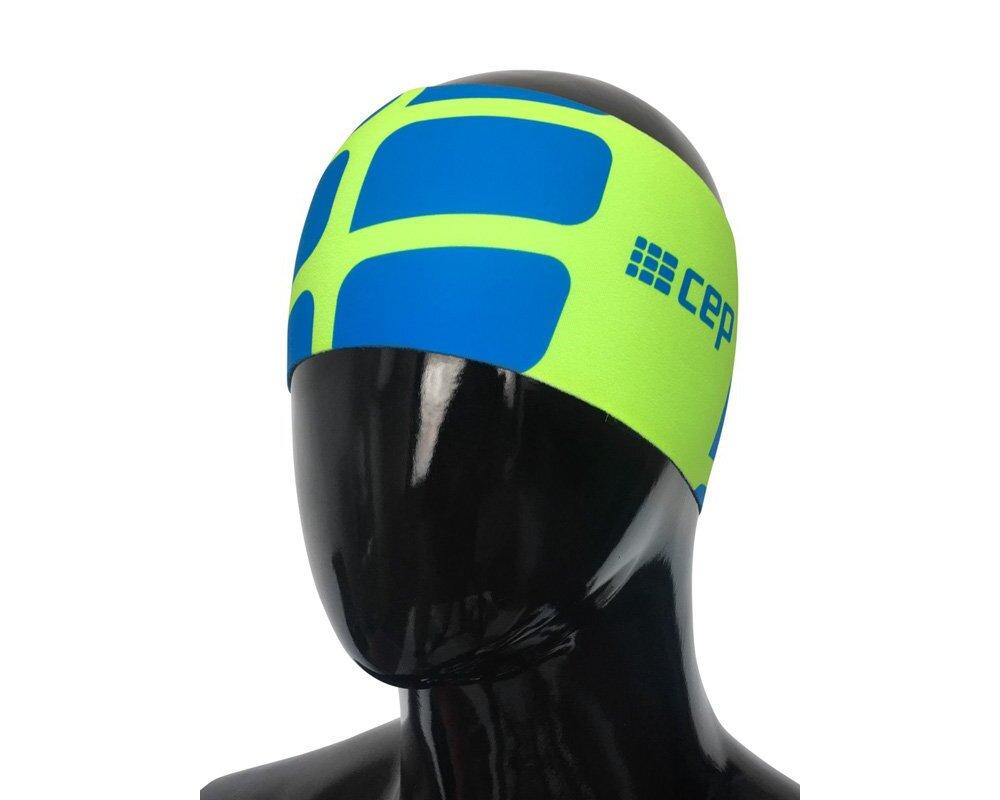 Bežecká čelenka CEP green blue  b36f4a948b