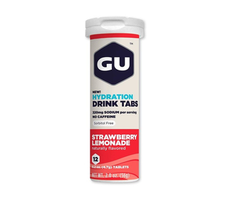 GU Brew Tabs 12 Tabs Strawberry Lemonade