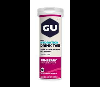 GU Brew Tabs 12 Tabs Tri Berry