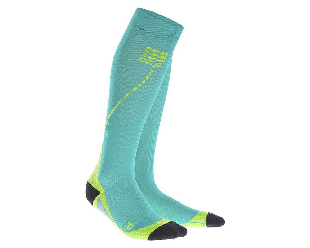 Kompresné podkolienky CEP Run Socks 2.0 men lagoon  962a07c2f94