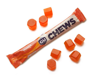 GU Energy Chews 54g Orange