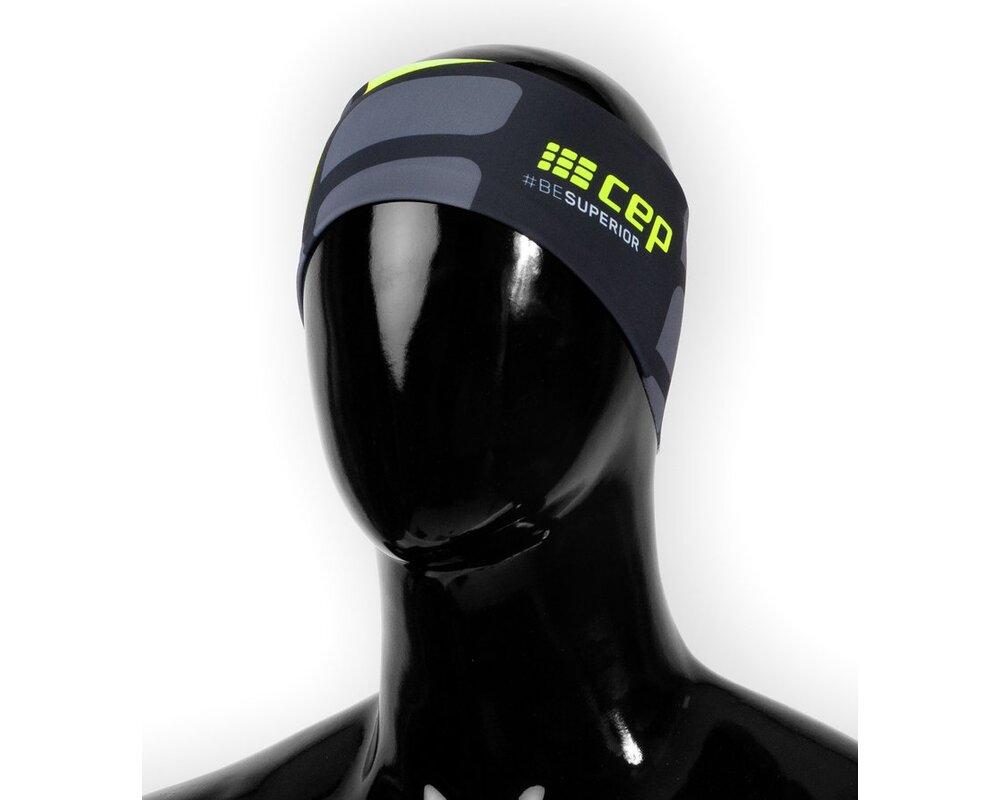 Bežecká čelenka CEP black green  4d8cf190b5