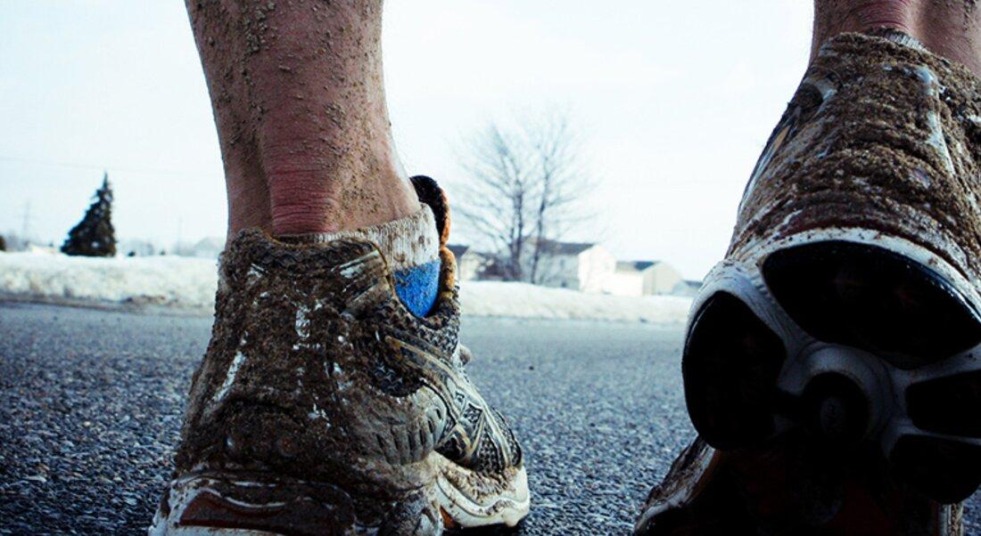 Čistenie bežeckej obuvi