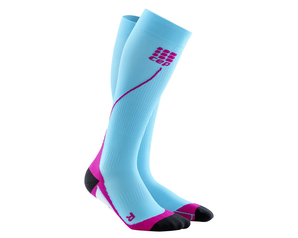Kompresné podkolienky CEP Run Socks 2.0 women hawai  598995fb1c4