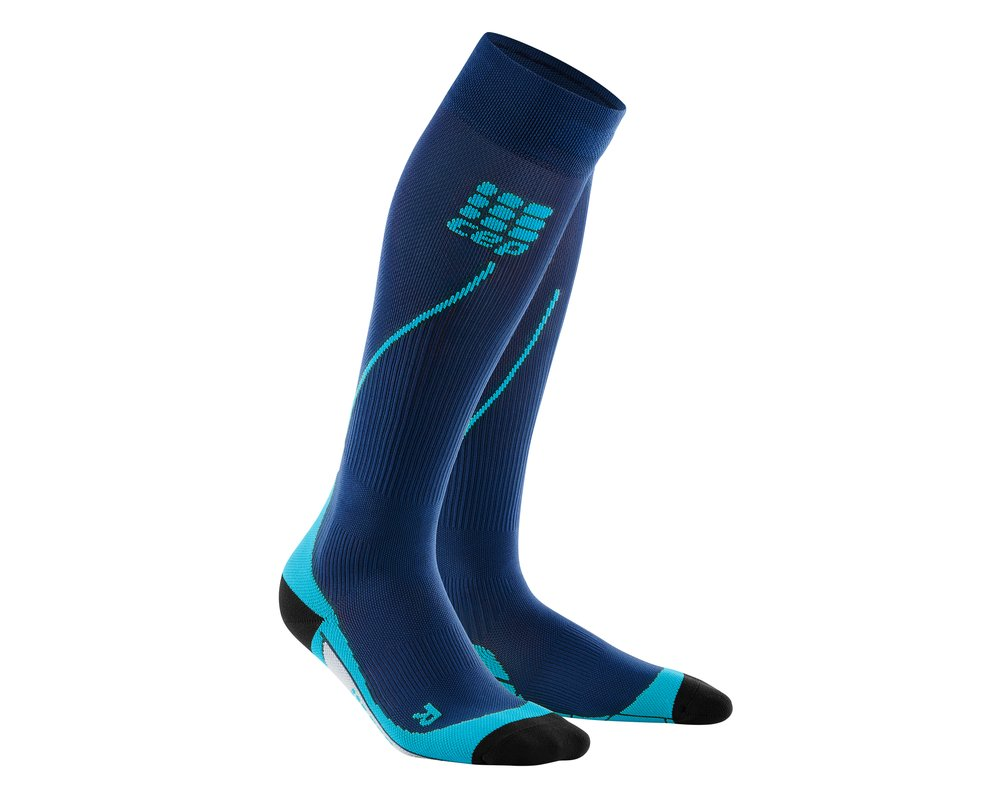 Kompresné podkolienky CEP Run Socks 2.0 men deep ocean hawai blue ... 3adbc3d7bc4