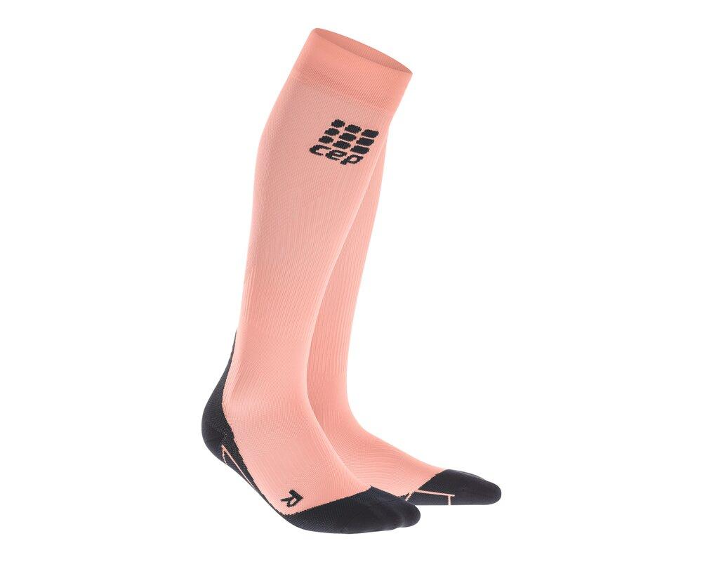 Kompresné podkolienky CEP Fitness Socks women crunch coral ... 2fbd85605f0