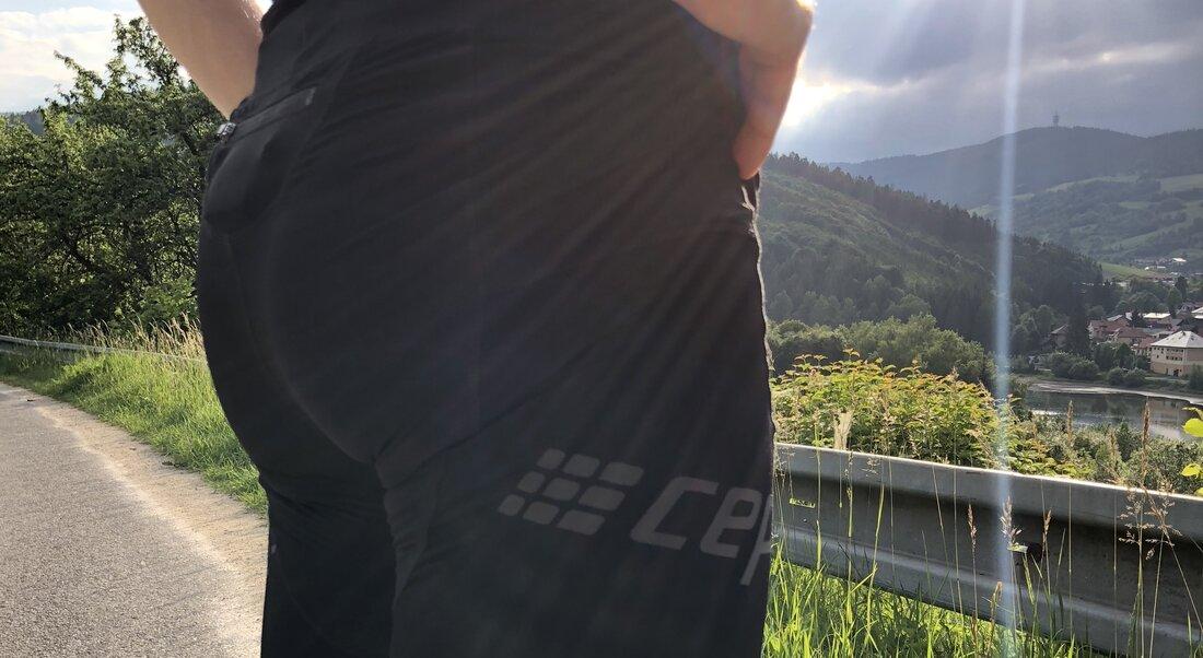 Kompresné nohavice CEP Run short 3.0.