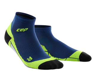 CEP Low Cut Socks men deep green