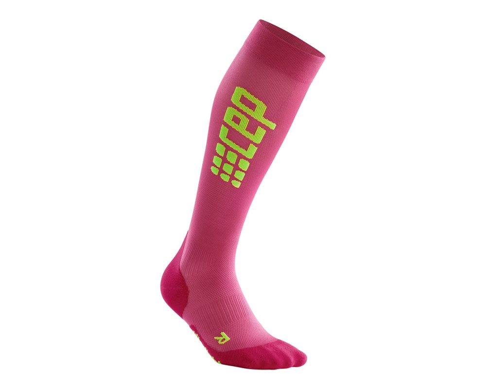 Kompresné podkolienky CEP Run Ultralight Socks women pink ... b69cfb025d1