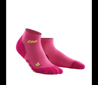 Bežecké ponožky CEP Ultralight Low Cut Socks women pink