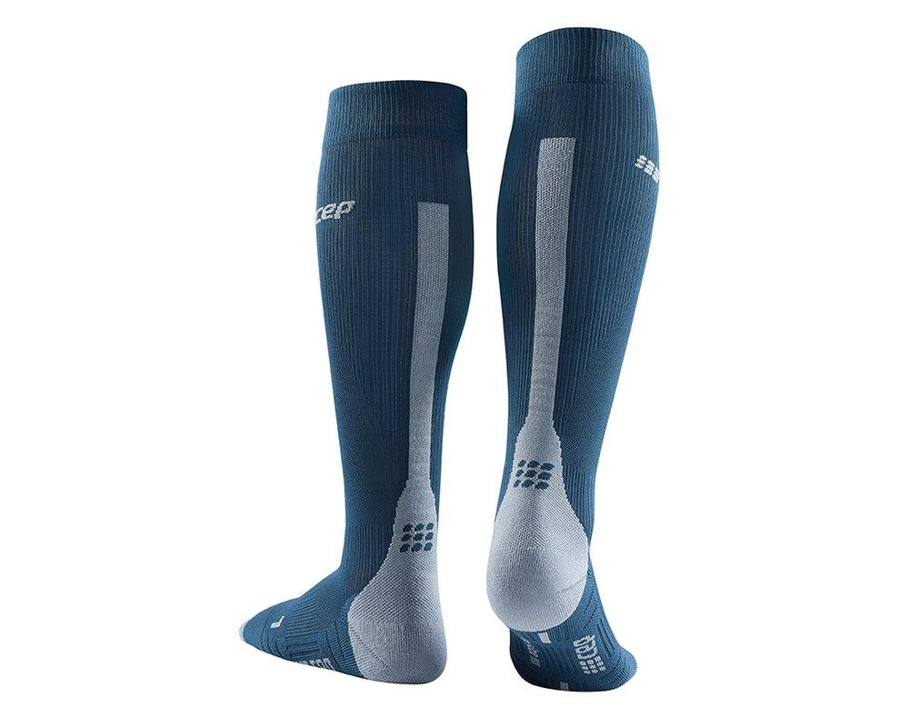Kompresné podkolienky CEP Run Socks 3.0 M blue grey  537ec7b2e5c