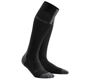 Kompresné podkolienky CEP Run Socks 3.0 men black