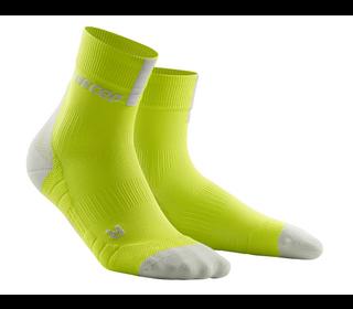 Bežecké ponožky CEP Short Sock 3.0 men lime