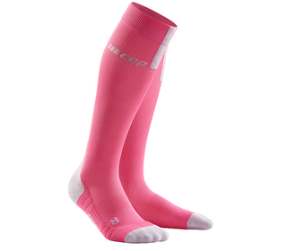 Kompresné podkolienky CEP Run Socks 3.0 women rose