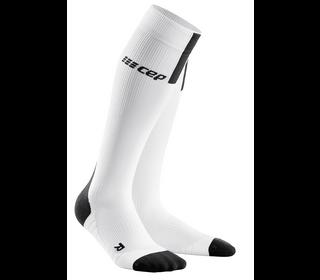 Kompresné podkolienky CEP Run Socks 3.0 women white