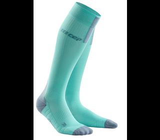 Kompresné podkolienky CEP Run Socks 3.0 women ice