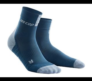 Bežecké ponožky CEP Short Sock 3.0 women blue